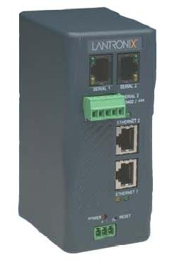 Lantronix Industrial Device Server XPress-DR+ - Device server - 2 ports - 10Mb LAN, 100Mb LAN by Lantronix