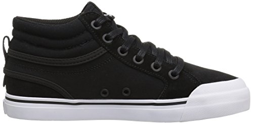 DC , Jungen Skateboardschuhe mehrfarbig schwarz / weiß