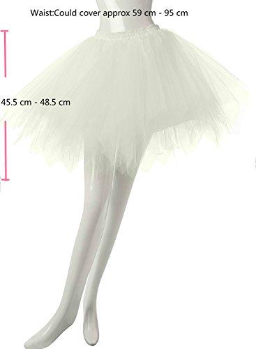 Phoenix® Ballett Blase Rock Frauen kurze Partei Tutu Vintage ...