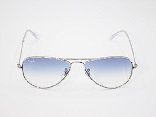 Ray-Ban Kids' 0rj9506s212/1952junior Aviator Sunglasses, Silver, 52 - Aviator Ray Ban 52