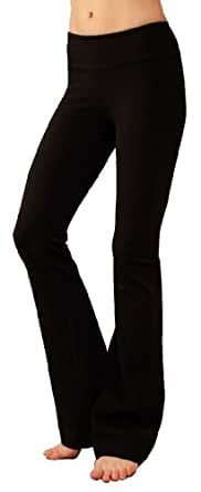 So Low Jersey Pilates Pants (Large, Black)