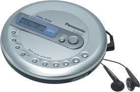 Panasonic SL-SV550 CD/MP3 Player