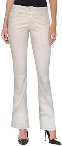 HyBrid & Company Women's Slim Boot Cut Stretch Pants