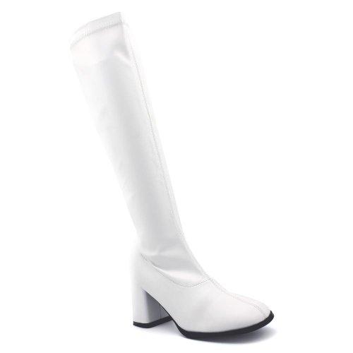 Multi Funtasma Boot Knee White Stretch High Colored Women's Gogo 300X 8frXwqa8
