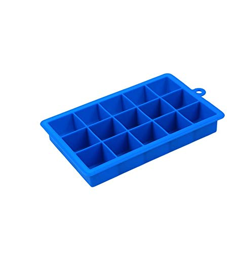 Big Ice Maker Mold Square Shape Silicone Ice Tray Fruit Ice Tray Bar Popsicle Ice Cream Tools Kitchen Accessories,01