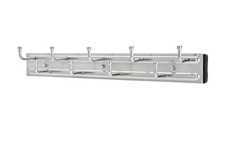 Rev-A-Shelf - BRC-14CR - 14 in. Chrome Pull-Out Side Mount Belt Rack