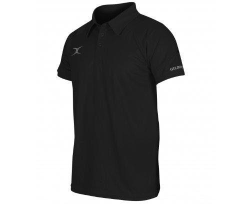 GILBERT Herren Vapour Poloshirt, Marineblau/Rot, XXL