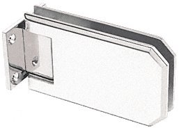 C.R. LAURENCE ELT074BN CRL Brushed Nickel Elite 074 Series Wall Mount Hinge by C.R. Laurence