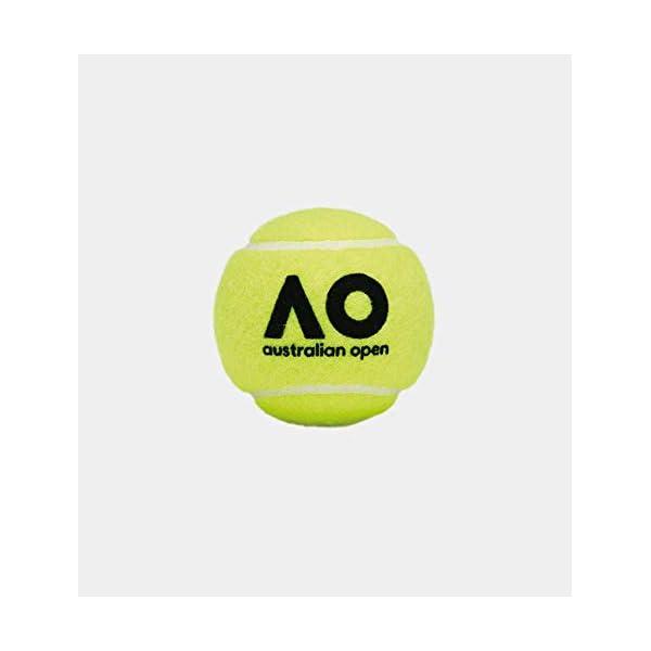 Dunlop Australian Open Palla da tennis gelb Taglia unica, giallo 2 spesavip