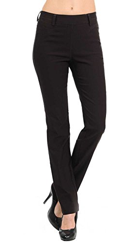 VIV Collection New Straight Fit Long Trouser Pants (Small - 32