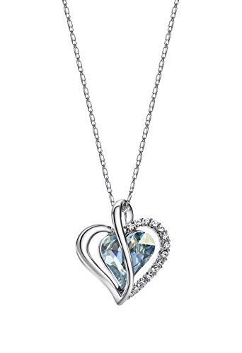 Ananth Jewels Embellished with Swarovski Heart Shaped Jewellery Pendant Necklace for Women by