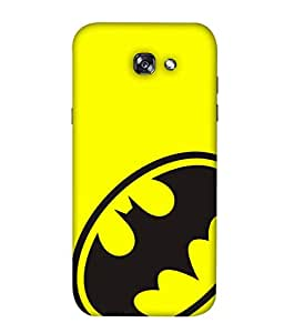 ColorKing Samsung A3 2017 Case Shell Cover - Batman Black & Yellow