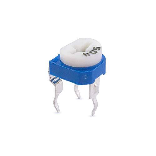 MCIGCIM 70 Pcs 13 Value 100 ohm- 1M ohm Trimpot Variable Resistor Potentiometer Assortment Kit, 6mm