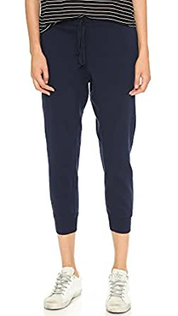 Wilt Women's Cropped Sweatpants, Blue Night, Small