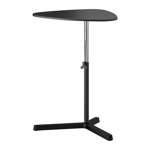 Ikea SVARTASEN - Laptop stand, black - 60x50 cm