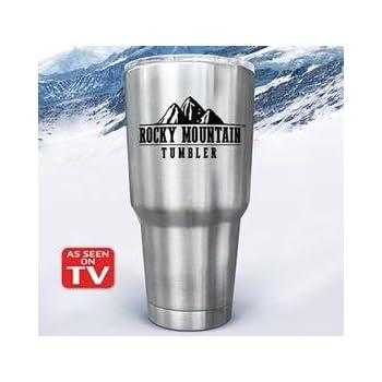 Amazon Com Rocky Mountain Tumbler 30 Ounces Tumblers