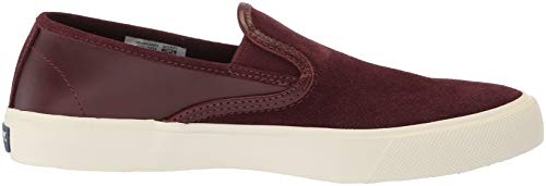 Sneaker On Us 12 Sperry Slip Captain's Burgundy M Leather Men's tqXzXKw4
