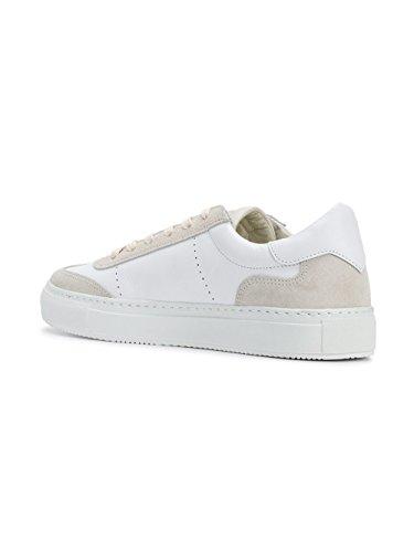 Sneakers In Pelle Bianca Da Uomo Modello Philippe Bvluvs01