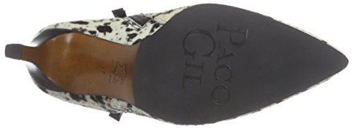 Paco Gil P2948 - botas de piel mujer blanco - Weiß (Maverick/Black)