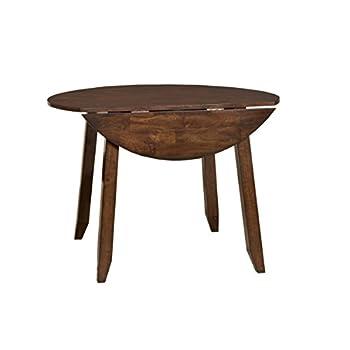 "Intercon KA-TA-4242D-RAI-C 42"" Kona Dining Table with Two 8.5"" Drop Leaves"