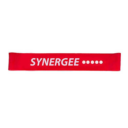 iheartsynergee Mini Band Resistance Loop Exercise Band – Red- Extra Extra Heavy Resistance For Sale