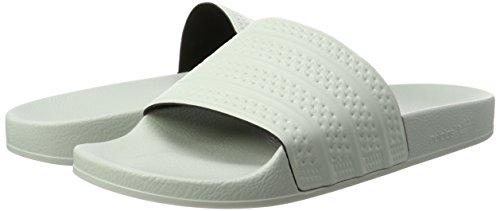 Hommes Adidas Chaussures amp; Lin Adilette Vert Beach Pool lin Lin Pqqpzrdc