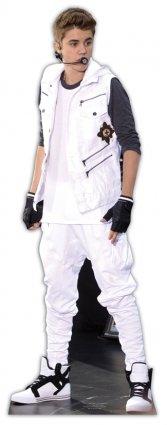 Justin Bieber Silhouette en Carton Taille réelle