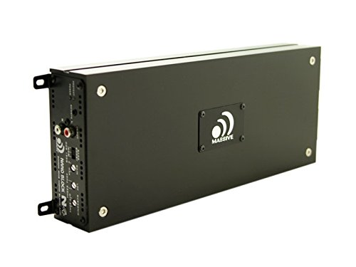 Massive Audio N4 - Mono Block Amplifier 2000w RMS @ 1 Ohm