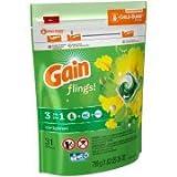 Gain flings! Laundry Detergent Pacs Original Scent, 31 count