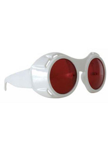 Elope Men's Hyper Vision Goggles - Willy Wonka White Glasses