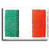 イタリア 国旗 アイロン ワッペン (ミニ 約33mmx24mm)