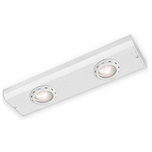 Good Earth Lighting Sunrise 12.5-inch Xenon Plug In Under Cabinet Light Bar - White
