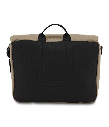 "JanSport Crosstalk 15"" Laptop Messenger Bag Desert Beige TZW19RU"