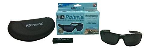 Price comparison product image JML HD Polari high definition polarized Sonnenbrille schwarz mit Etui