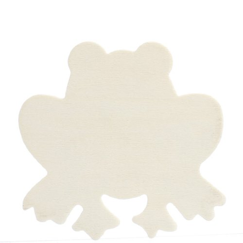 Package of 24 Unfinished Wood Sitting Frog Cutouts for Painting and Crafting