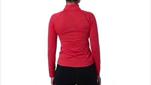 Chemise ¨¤ manches longues ¨¤ glissi¨¨re pour femmes Heather Quarter Zip (Dhg Double Dye, S)