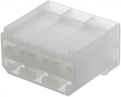 Te connectivity connettore femmina per cavo fastin-faston totale poli 3 926097-1