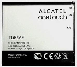 OEM 1800mAh Alcatel Battery TLiB5AF CAB32E0002C1 for Alcatel One Touch 997, PopC5, X Pop, OT-5035