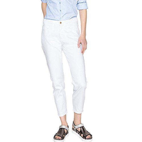 Bianco Con Donna Jeans Mom Alta Redoute Vita Collections La 7OXYnq
