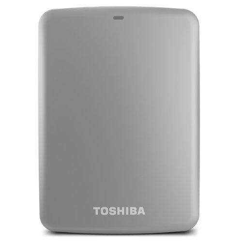 - (Old Model) Toshiba Canvio Connect 2TB Portable Hard Drive, Silver (HDTC720XS3C1)