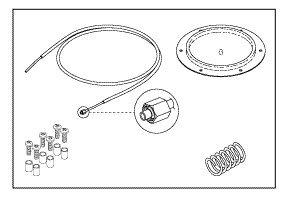 Foot Controller Repair Kit for Pelton & Crane PCK784