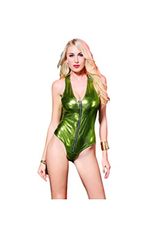 Top Totty - Body - para mujer Verde