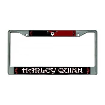 Amazon Com Dc Comics Harley Quinn License Plate Frame
