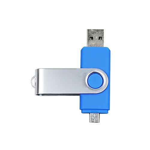 Ayake 128GB USB Memory Stick Flash Drive USB 2.0 Micro USB F