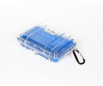 UPC 019428028893, Peli 1040 Micro Case - Clear with Blue Liner