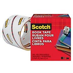 Scotch Book Tape 845, 3 Inches x 15 Yards