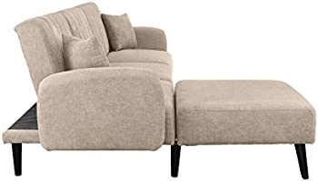 Cool Futon Recliner Sleeper Sofa Bed Convertible Futon Sofa Couch Sectional With Reversible Chaise Sofa To Bed Feature Left Or Right Modern L Shaped Creativecarmelina Interior Chair Design Creativecarmelinacom
