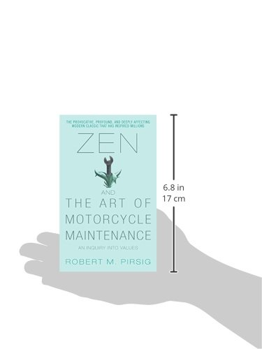 Amazon.com: Zen and the Art of Motorcycle Maintenance: An Inquiry ...