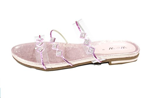Wear & Walk UK , Damen Sandalen 42 Pink/Gold