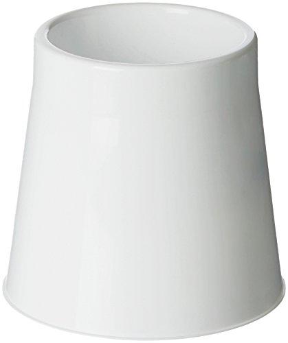 AmazonBasics Toilet Bowl Brush Holder, White, 12-Pack